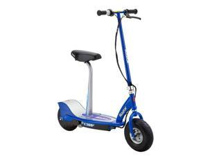 Razor E300S Adult 24V High-Torque Motor, Electric Powered Scooter w/ Seat, Blue
