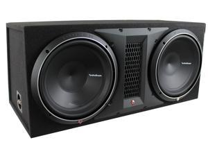 Rockford Fosgate P32X12 12 Inch 2400 Watt Dual Loaded Subwoofer Sub Enclosure