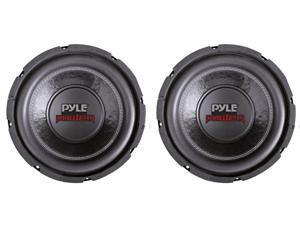 """2) PYLE PLPW6D 6"""" 1200W Dual Voice Coil 4-Ohm Black Car Stereo Audio Subwoofers"""