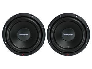 "Rockford Fosgate R2D2 10"" 1000W 2-Ohm DVC Car Audio Subwoofer Set, 2pk"