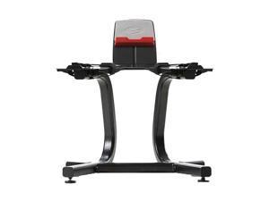 Bowflex SelectTech Steel Dumbbell Weight Storage Stand w/ Media Rack