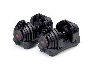 Bowflex SelectTech 1090 Adjustable Workout Exercise Dumbbell Weights (2 Pack)