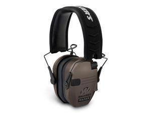Walkers Razor Series Hearing Protection Dark Earth Slim Shooter Folding Earmuffs