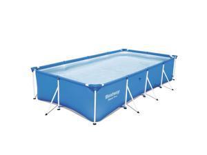 "Bestway Steel Pro 13' x 7' x 32"" Rectangular Frame Above Ground Swimming Pool"