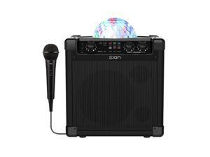Ion Audio Party Rocker Plus Bluetooth Karaoke Speaker with Lights (2 Pack)