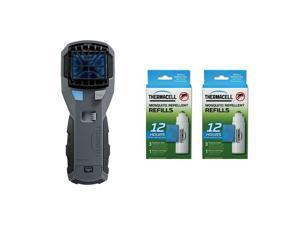 Thermacell MR450X Insect Mosquito Repeller & Repellent Refill Packs (2 Pack)