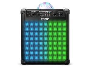 Ion Party Rocker Max Wireless Bluetooth Karaoke Speaker with Lights (2 Pack)