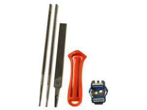 """New Husqvarna 505698191 3/8"""" Saw Chain Chainsaw FileKit Filing Kit 5056981-91"""