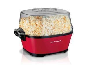 Hamilton Beach Hot Oil Popcorn Popper - Red 73302