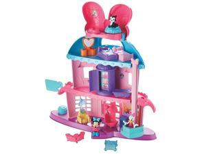 Fisher Price Disney Minnie Mouse Home Sweet Headquarters Play House with Figures