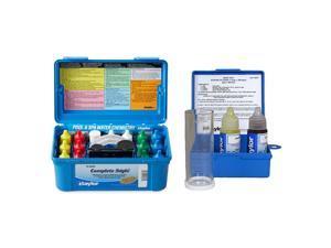 Taylor K2005 Pool Hardness pH DP Test Kit & K-1766 Salt Water Drop Test Kit
