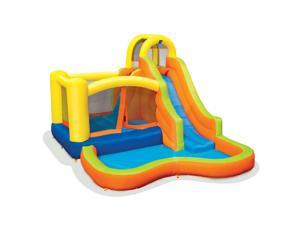 Banzai 28007 Sun 'N Splash Fun Kids Inflatable Bounce House & Water Slide Park