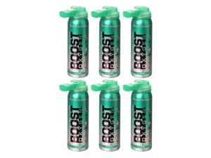 Boost Oxygen Canned 2-Liter Natural Oxygen Canister, Menthol Eucalyptus (6 Pack)