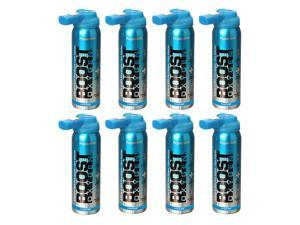 Boost Oxygen Canned 2-Liter Natural Oxygen Canister, Peppermint (8 Pack)