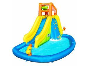 Bestway H2OGO! Mount Splashmore Kids Inflatable Water Splash Park with Slide