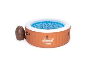 Coleman 90455 SaluSpa Miami Air Jet 4 Person Inflatable Hot Tub Spa with Pump