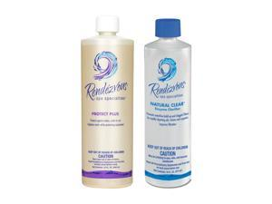 Rendezvous Spa Specialties Pool and Spa Protect Plus and Natural Clear 32 Ounces