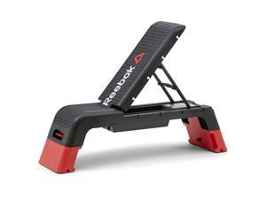 Reebok Professional Multi-Purpose Aerobic Challenging Home Fitness Deck, Black
