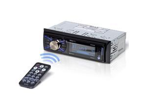 BOSS AUDIO 632UAB Single-DIN In-Dash Mechless AM/FM Receiver with Detachable Face (With Bluetooth(R))