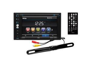 """BOSS Audio BVB9358RC Double-DIN DVD Player 6.2"""" Touchscreen Bluetooth"""