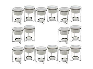 PrepWorks by Progressive 5-Ounce Ceramic Butter Warmer Home Fondue Set (8 Sets)