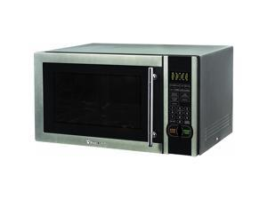 Magic Chef MCM1110ST 1000W 1.1 Cubic Foot Countertop Microwave Oven with Handle