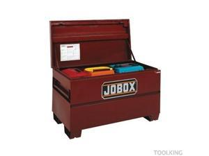JOBOX 1-654990 48 in. Long Heavy-Duty Steel Chest with Site-Vault Security System
