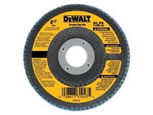 DeWalt DW8312 4-1/2-inch Type 29 60 Grit Flap Disc