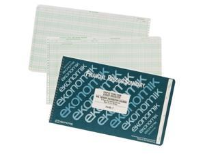 Ekonomik Wirebound Check Registers Accounting System