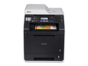 Brother MFC9460CDN Multifunction Color Laser Printer 16inx19-4/5inx19-2/5in BK/G