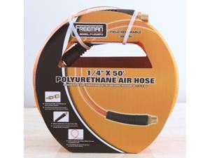 Freeman P1450RPU 50 ft. x 1/4 in. Braided Polyurethane Air Hose