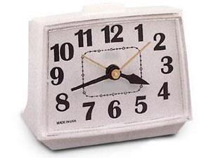 "Equity Lacrosse 4"" Electric Analog Alarm Clock"