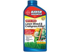 Bayer 704140A All-In-One Lawn Weed & Crabgrass Killer - 32 Oz.