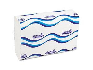 C-Fold Paper Towels, 1 Ply, 10.2 x 13.25, White, 200/Pack, 12 Packs/Carton 101C