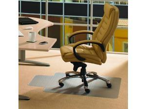 Cleartex PVC Rctglr Lipped Chair Mat Low Pile Carpets 36X48 FR119225LV