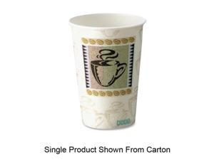 Case Of 500 Dixie Coffee Dream Design PerfecTouch 16 Oz Hot Cups