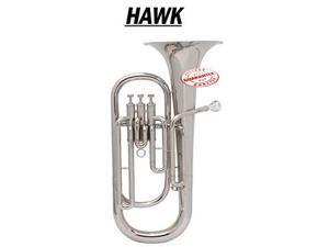 Hawk Nickel Plated Bb Baritone Horn WD-BT512