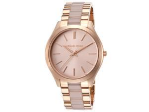 Michael Kors MK4294 Women's Slim Runway Rose Gold Watch
