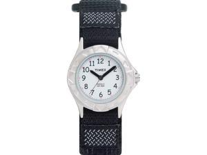 Kid's Timex My First Outdoors Black Nylon Band Watch T79051