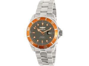 Invicta Men's Pro Diver 22022 Silver Stainless-Steel Quartz Watch
