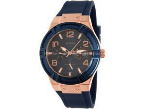 Guess Men's U0571L1 Blue Silicone Quartz Watch