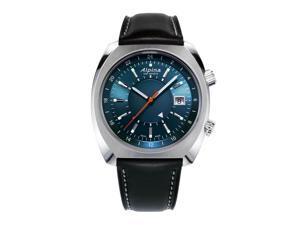 Alpina AL-555N4H6 Men's Startimer Pilot Heritage Navy Blue Dial Automatic Watch