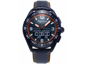Alpina AL-283LNO5NAQ6L Men's AlpinerX Navy Blue Dial Quartz Watch
