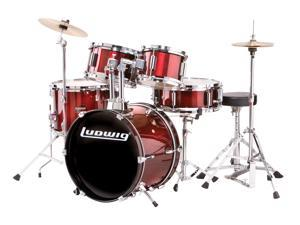 Ludwig Junior 5 Piece Outfit - Wine Red