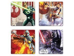 Star Wars Unleashed Artwork Coaster 4-Pack