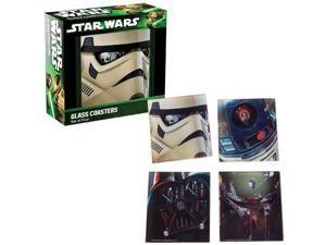 Star Wars Glass Coasters Set 4-Pack
