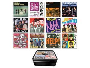 The Beatles Albums 12-Piece Magnet Set with Tin Box