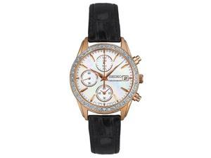 Seiko Chronograph Women's Quartz Watch SNDY14