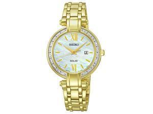Seiko SUT182 Womens Analog Display Japanese Quartz Gold Watch