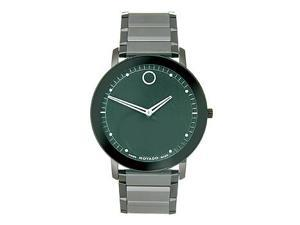 Movado Sapphire Black Mens Watch 0606882